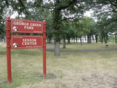 Present site of the Adventist Campground - George Green Park in Anoka